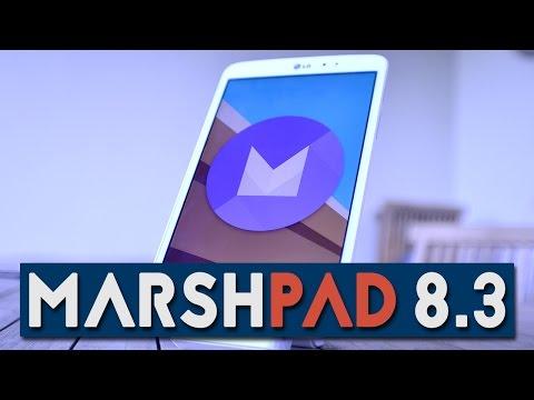 MARSHMALLOW 6.0 | Impressioni su LG G Pad 8.3!