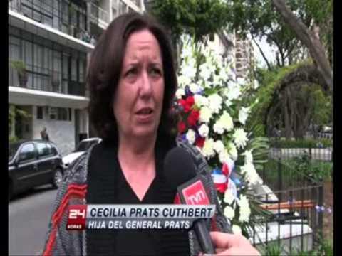 Fedach - Noticia TVN homenaje a Prats 2014