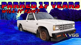 FREE Chevy S10 Pickup Will It Run and Drive after many years? | Part 1