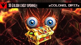 Kritika The White Knights - 99 Golden Chest Opening