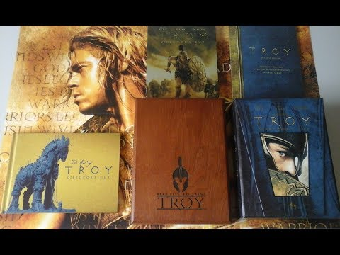 My Troy DVD/Blu-ray Collection