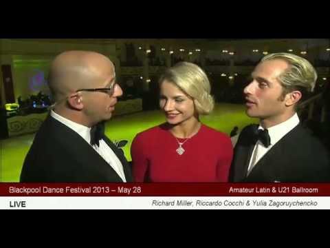 Yulia Zagoruychenko & Riccardo Cocchi Interview Blackpool 2013