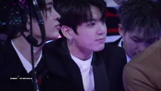 171201 MAMA JungKook Reaction (Stay with me)