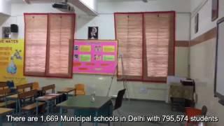 Delhi municipal corporations make classrooms smart, but fail students
