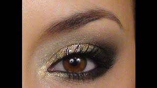 Qu'on me couvre d'or   **Maquillage du Temps des Fêtes**