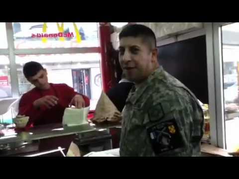McDonalds in Ferizaj, Kosovo