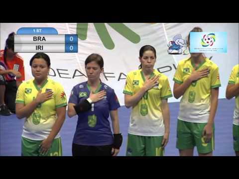 2016 Deaf Futsal 24 Nov 2015 women Brazil vs Iran Bangkok Youth Center 1