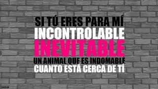 Amaia Montero - Inevitable (Letra)
