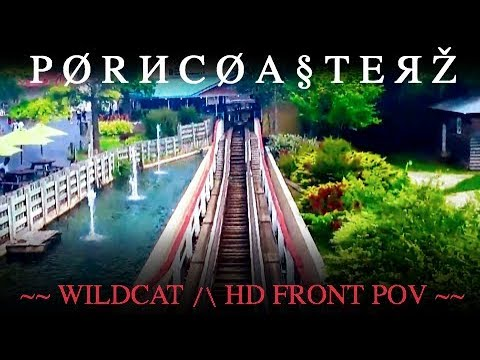 COASTERPORN- Wildcat - HD FRONT SEAT POV - Frontier City