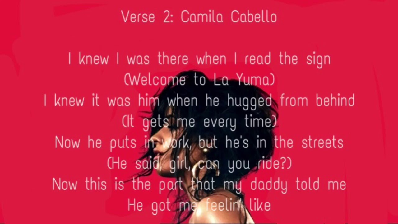 Camila cabello havana no rap version lyrics youtube camila cabello havana no rap version lyrics stopboris Gallery