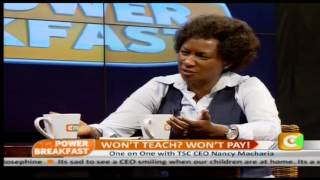 Power Breakfast interview with TSC CEO