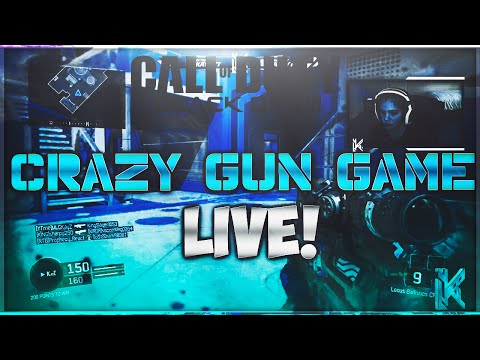 INSANE GUN GAME! GUN GAME LIVE GAMEPLAY ON BLACK OPS 3! (BO3 LIVE!)