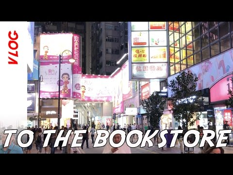 Hong Kong Vlog: Time for the Bookstore