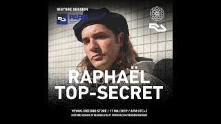 Resident Advisor x yoyaku instore session : Raphaël Top Secret