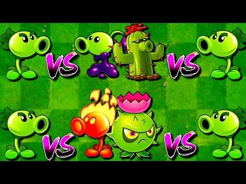 Plants Vs Zombies 2 All Mixing Free Vs Premium Plants Pvz 2 Repeater
