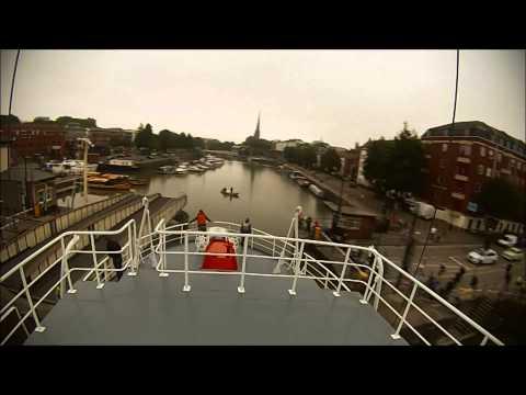 Thekla's return to East Mud Dock, 2014