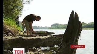 Через обміління Десни підводні артефакти вийшли на поверхню