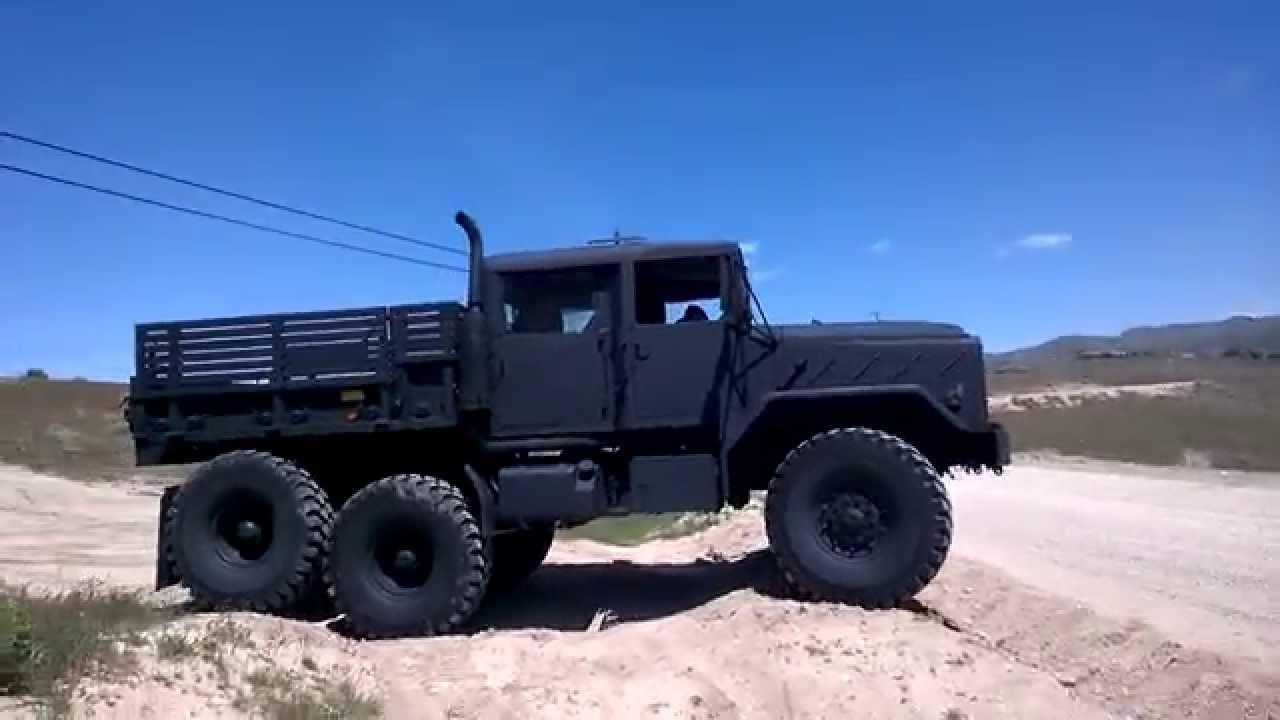 BMY M931A2 5 ton quad cab - military truck crew cab - wheel ...