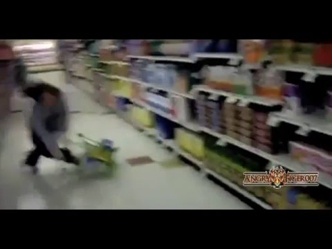 crazy peoples in Shopping Cart Fail Compilation