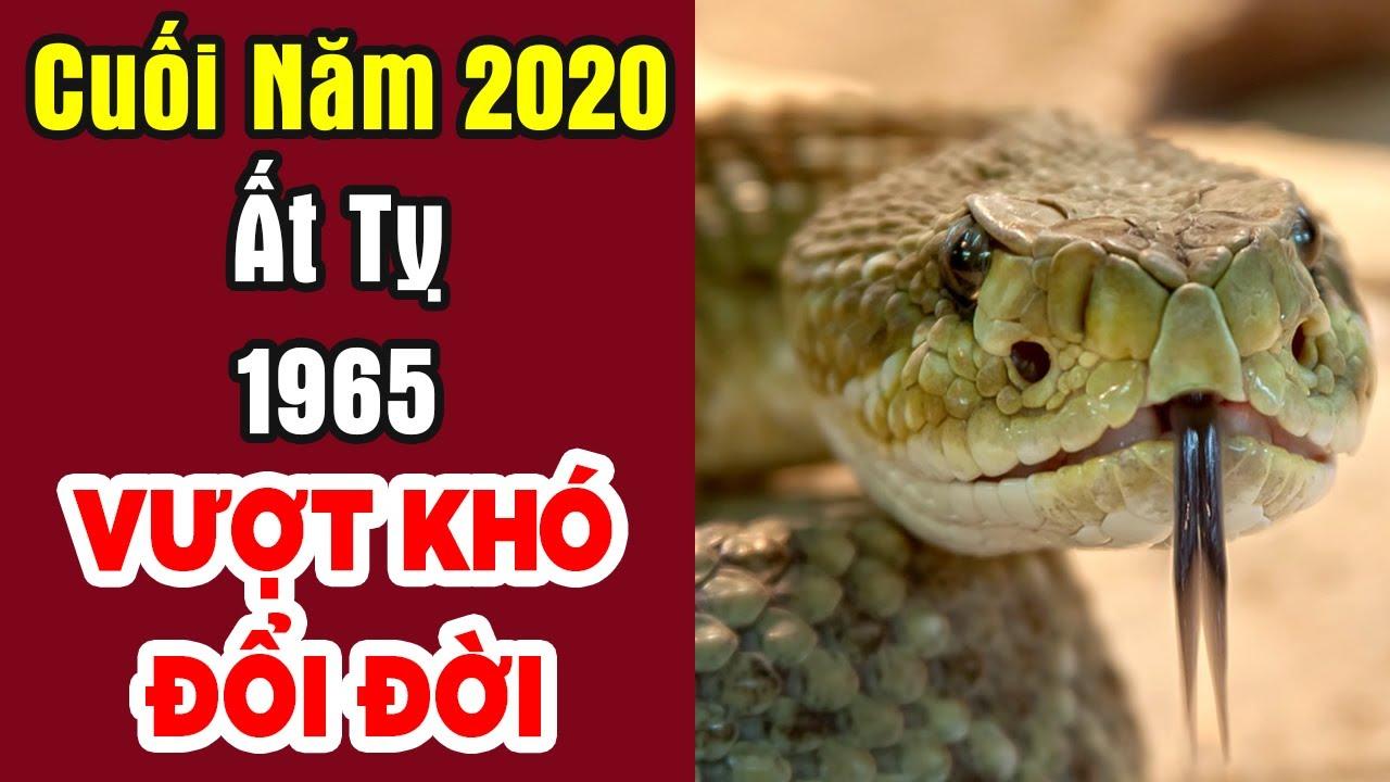 """Chúc Mừng Tuổi """"Ất Tỵ 1965"""" Cuối Năm 2020  Được Lộc Trời Cho Giàu Sang Phú Quý Trọn Đời   PTLT"""