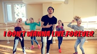 Zayn & Taylor Swift - I Don't Wanna Live Forever Dance | choreography by Andrew Heart