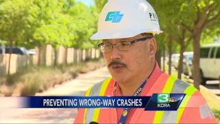 New technology could curb wrong-way driving in Sacramento