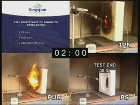 Kingspan IPN PUR PS Sandwichpaneele -...