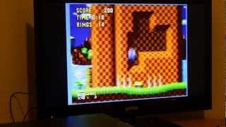 Sega TeraDrive Demo: Sonic 1 and Sega Menu