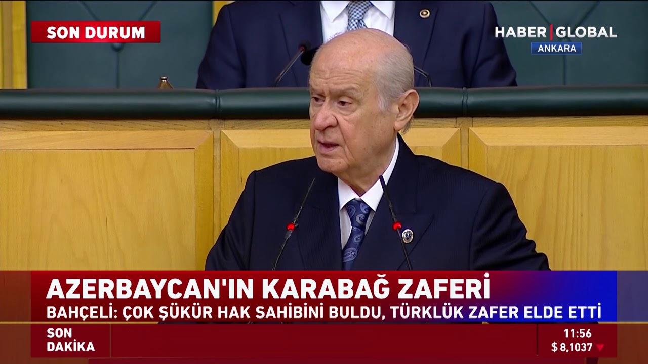 Devlet Bahçeli: Tarihi darbe indirilmiş can Azerbaycan kahramanlıkla topraklarını almıştır