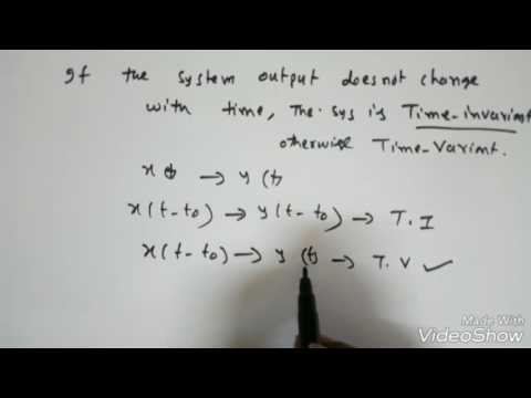 Signals and Systems Lec-11: Classification of Systems