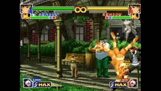 King Of Fighters 99 A All Special Moves Set Part 2