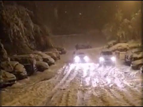 Saint-Étienne sous la neige après une nuit de galère