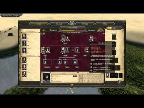 Total War: Atilla - A guide to managing your family tree.