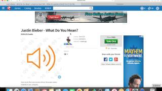 How to get Audio Codes on Roblox