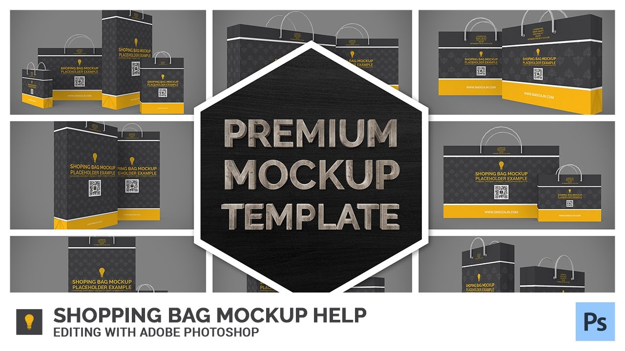 Ping Bag Mock Up Help Editing With Adobe Photo