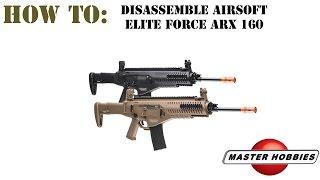 Elite Force ARX 160 field strip