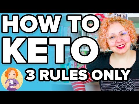 How to Keto 2019: What is KETO? 🥑 Easy Keto Diet for Beginners 🥓 3 Rules Only!