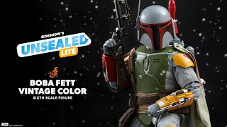 Boba Fett (Vintage Color Version) by Hot Toys | Unsealed Lite