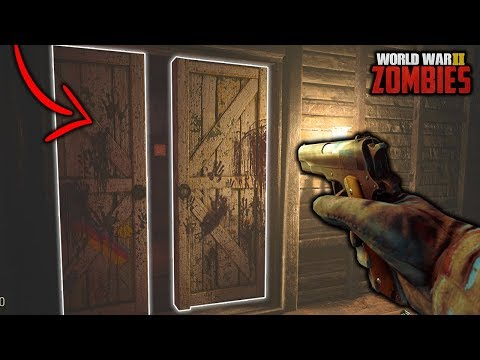 "WW2 ZOMBIES - Secret Room FOUND! EASTER EGG! ""Groesten Haus"" (Call of Duty: WWII Zombies)"