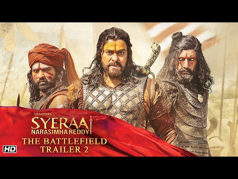 Sye Raa Narasimha Reddy Trailer 2 - The Battlefield