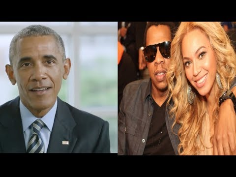 Download Youtube: Barack Obama hints at the sex of Beyonce's twins+ Twitter goes CRAZY after Jay-Z starts tweeting