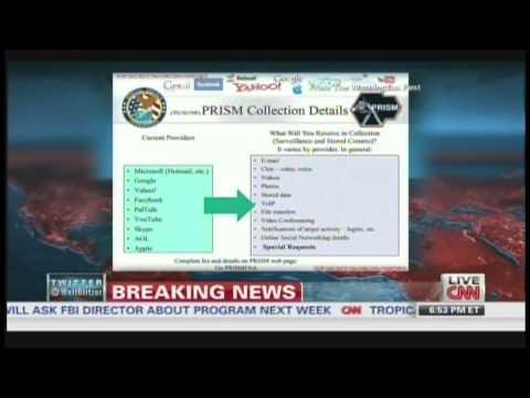 U.S. spy agencies mined Internet data (June 6, 2013)
