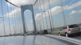 A ride over the Whitestone Bridge