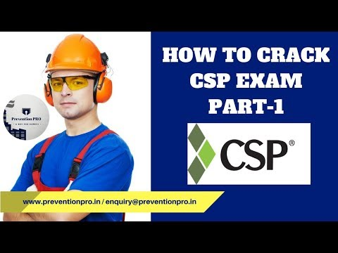 How To Crack CSP Exam