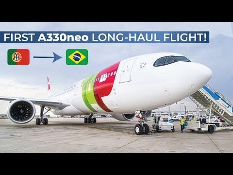 TRIPREPORT | TAP Air Portugal (EMPTY TEST FLIGHT!) | Airbus A330-900neo | Lisbon - Rio De Janeiro