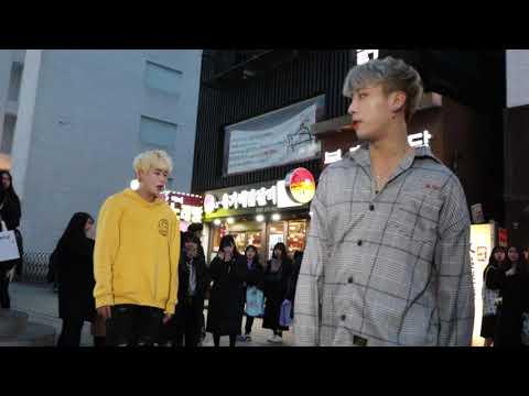 DOB 디오비 Exo - Love Shot Busking Fancam