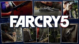 ► CONFIRMED WEAPONS LIST! - Far Cry 5 (Recurve Bow, .44 Magnum & MORE!)
