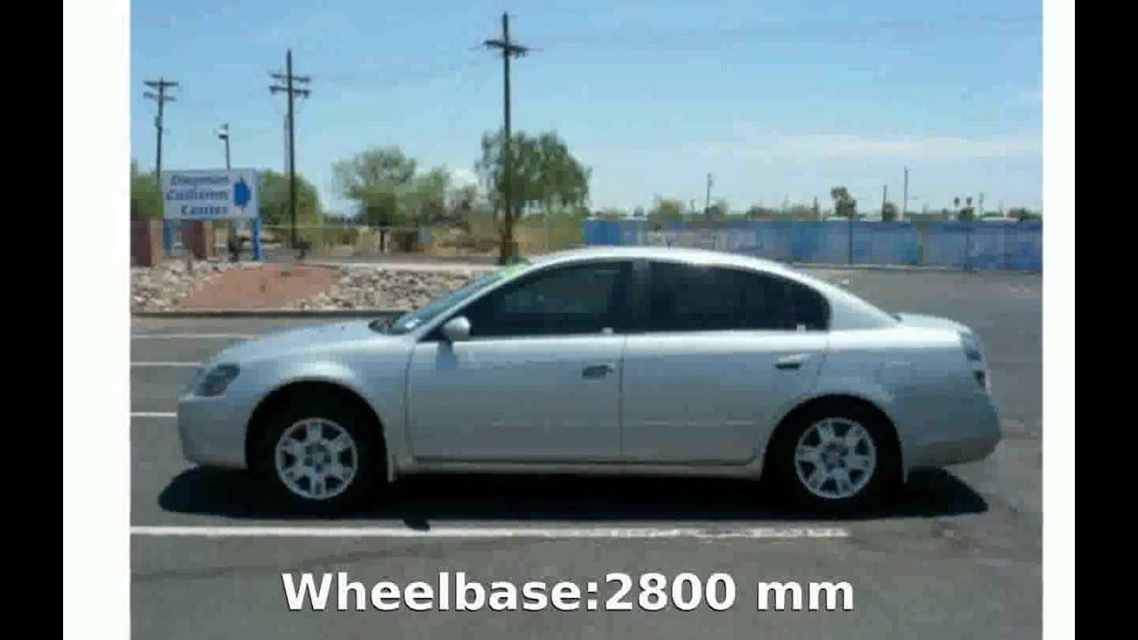2005 Nissan Altima 25 S Automatic  Specs Info  YouTube