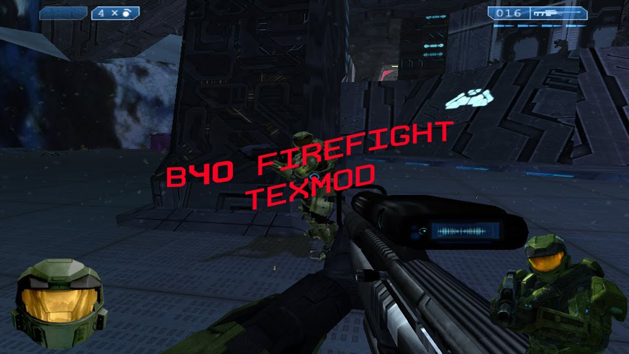 Halo ce b40 firefight texmod youtube for Halo ce portent 2 firefight