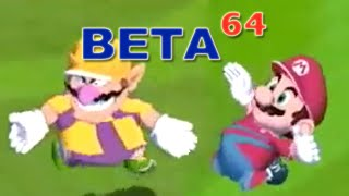 Beta64 - Super Mario Strikers
